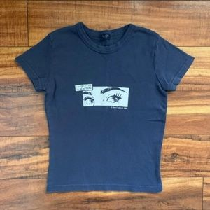 brandy Melville cropped tee!!!